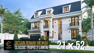 Video Desain Rumah Classic 2 Lantai Bapak Made di  Lampung