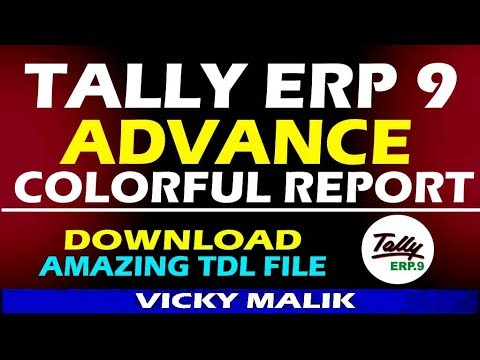 Tally TDL || How To Change Tally Colors || Tally Colorful