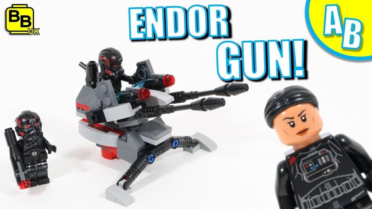 LEGO ENDOR GUN EMPLACEMENT 75226 ALTERNATIVE BUILD