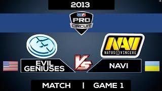 Evil Geniuses vs Navi MLG Championship Columbus Match Game 1 Dota 2 Highlights