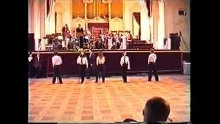 preview picture of video 'Taneční skupina Uragán 15.3.2003'
