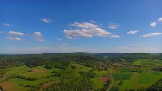 DJI Phantom 4 - German Woods In Powerful Colors [HD 60 fps]