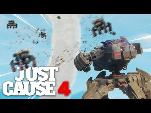 Just Cause 4 - MECH VS TORNADO INSANITY!