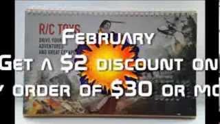 DX 2014 Desk Calendar with 12 Months' Coupon Codes (Value USD$ 200)