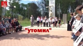 Дети теряют сознание на митинге 9 мая