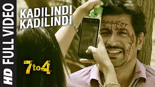 Kadilindi Kadilindi Full Video Song || 7 To 4 || Anand Batchu