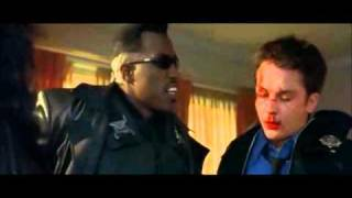 Blade  Cop Scene