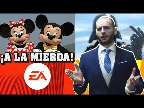 ¡DISNEY QUIERE DESPEDIR A EA DE STAR WARS! - Sasel - Electronic arts