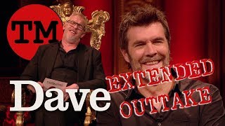 Taskmaster S7 EP8   EXTENDED OUTTAKE   Rhod's Creepy Video of Greg Davies   Dave