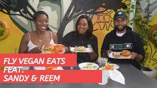 Fly Eats Meets Photography, The Greenest Mile & Vegan Eats With Kareem and Sandy Virgo