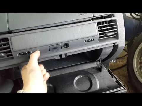 Как снять бардачок на BMW E36