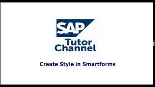 create style in smartforms