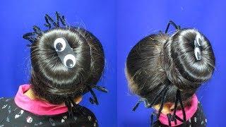 Peinado Araña Para Halloween/Hairstyle Halloween