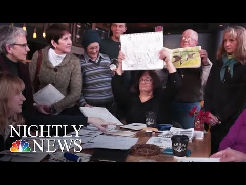 This Organization Is Turning Drawings Into A Social Pastime | NBC Nightly News