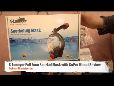 X-Lounger Full Face Snorkel Mask with GoPro Mount Review