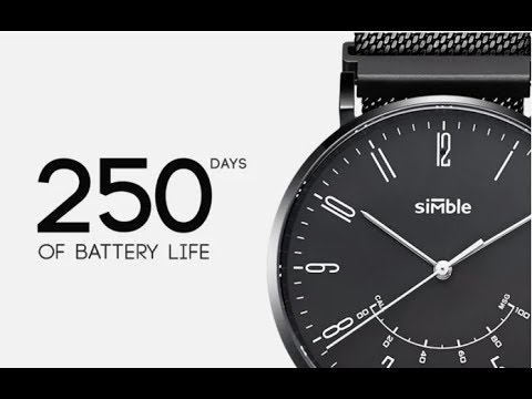Simble Smart watch- Upcoming Smartwatch of 2017