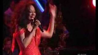 "Diana Ross singing ""More Today Than Yesterday"""
