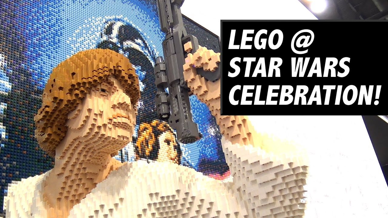 Tour the Massive LEGO Booth at Star Wars Celebration Chicago 2019!