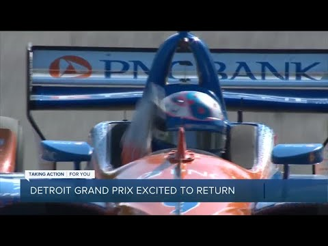 Drivers, officials excited for return of Detroit Grand Prix