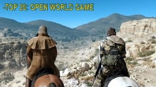 Top 20 Open World Games