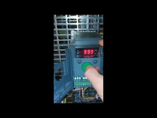 ATV310 Управление паролем для доступа к настройкам