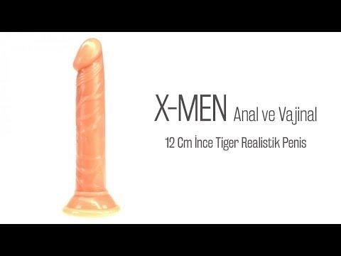 Tiger Anal ve Vajinal Kullanılabilen Realistik Penis
