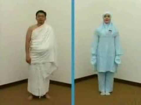 Video Seragam Jamaah Haji Indonesia & Pakaian Ihram (video panduan Depag RI)
