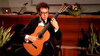 Andrea De Vitis - Leo Brouwer, Estudios Sencillos num. 12-6-8-10