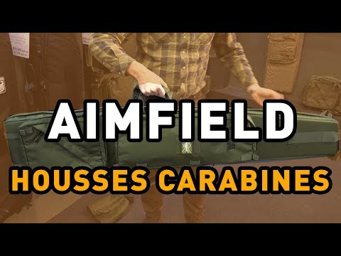 REVIEW MATERIEL : AIMFIELD: HOUSSES CARABINES