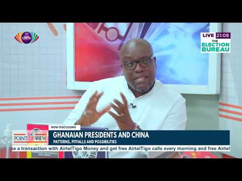 Lloyd Amoah on his book; Ghanaian Presidents and China | Point of View