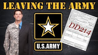 The process to leave the Army
