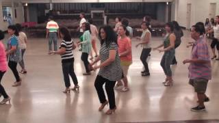 Line Dance:SI TU Me Das -Cumbia