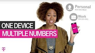 DIGITS: Multiple Numbers, One Device | T-Mobile