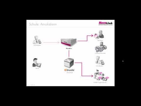 Mit der novabox und novaalert bietet die novalink GmbH eine günstige, sichere und effiziente Alarmierungslösung an, welche sich ideal für Amokalarme einsetzen lässt.   Die Alarmierungslösung lässt sich einfach in bestehende Infrastrukturen in Schulen einbinden und für den Amokalarm verwenden. So können zum Beispiel Telefonanlagen oder Hausleitsysteme von verschiedenen Herstellern an die Appliance novabox angeschlossen und genutzt werden.