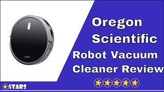 Oregon Scientific Robot Vacuum Cleaner Review - Robot Cleaner with Drop-Sensing System
