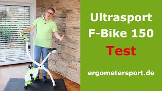 Ultrasport F-Bike 150 klappbarer Heimtrainer im Test