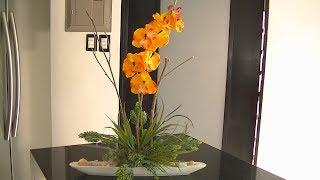 Como Hacer Arreglos Florales Con Orquideas Artificiales