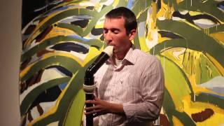 Benjamin Taylor, bass recorder improvisation