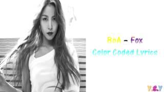 BoA (보아) - Fox [Han/Rom/Eng Lyrics]