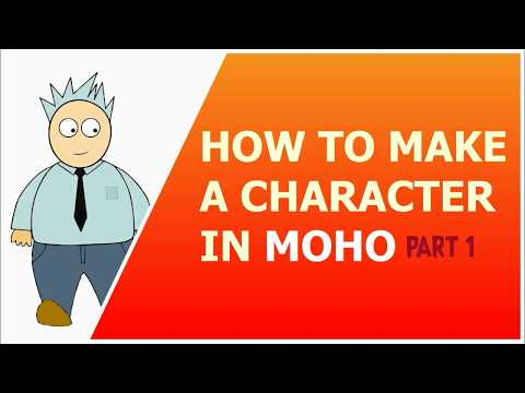 how to make a simple character in moho 12 (PART 1)