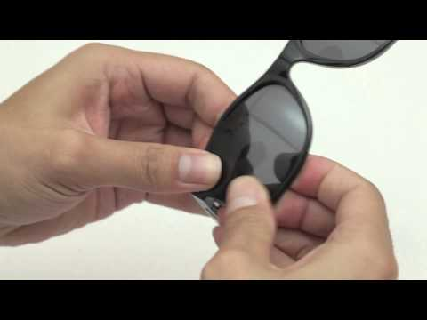 Ray-Ban Wayfarer 2132 55mm Sunglasses Lenses Replacement(Installation/Removal)