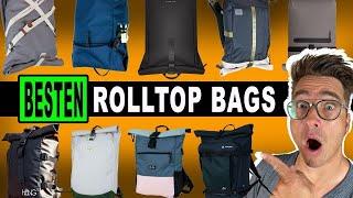 Top 9 BESTEN Rolltops Backpacks für jeden Tag (mit Laptopfach)