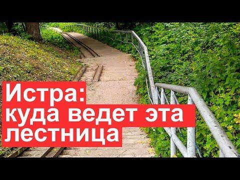Истра: город с рекой в Московской области