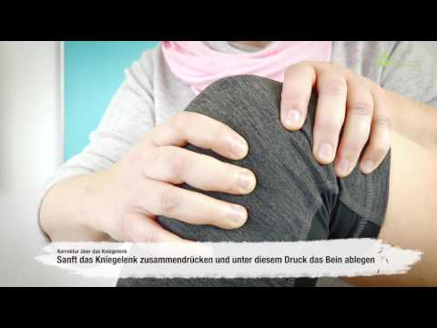 Schwellung der Gelenke verursacht Bein