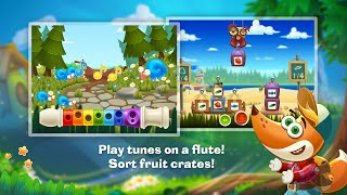 "Tim the Fox Travel ""Educational Brain Games""Android Apps Gameplay Video ""For Children"""