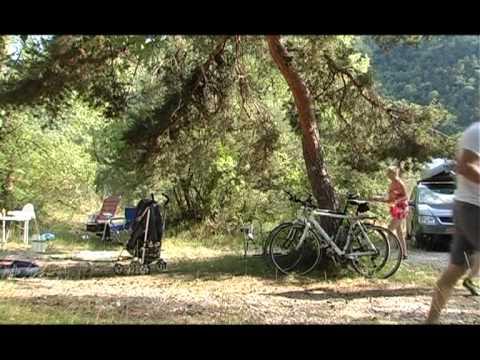 Le camping Les Chapelains en 2011
