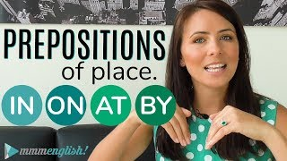 Prepositions of PLACE  👉  IN / ON / AT / BY  👈  Common English Grammar Mistakes | Kholo.pk