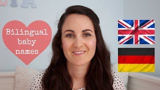 8 BABY NAMES THAT WORK IN ENGLISH AND GERMAN 🇬🇧🇩🇪