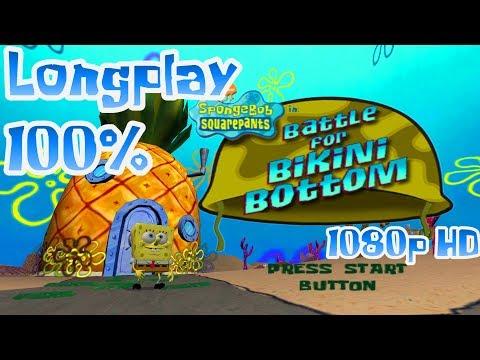 SpongeBob Battle for Bikini Bottom - Complete Game 100% (1080p)