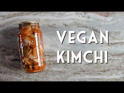 VEGAN KIMCHI RECIPE • Easy & Ready In 2 Days